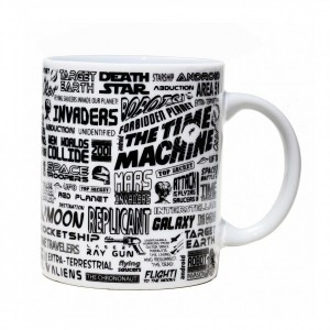 Science Fiction Films Mug