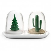 """Winter and Summer"" Salt & Pepper shaker Set"