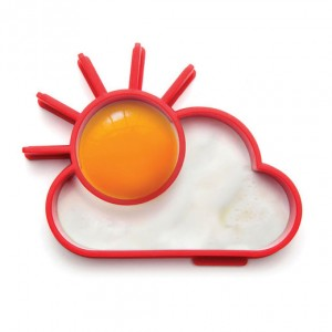 "Mold Sun and Cloud for fried Eggs ""SunnySide"""