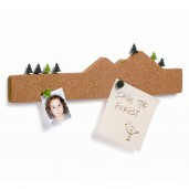 "Board Note Holder with Pins ""Memo Mountain"""