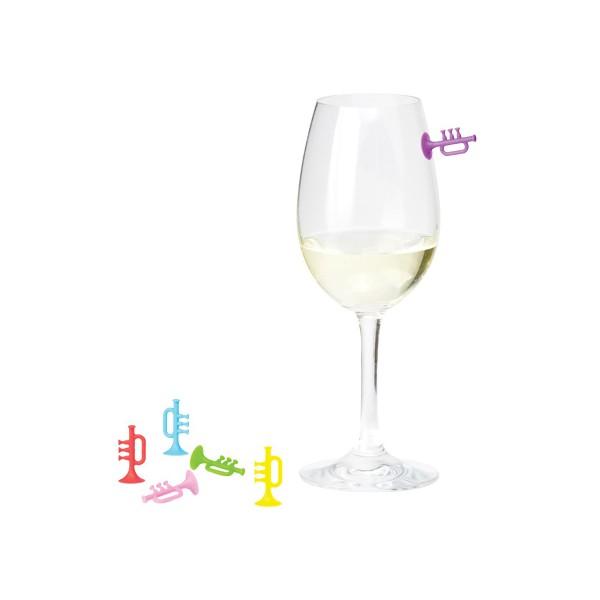 Comprar identificadores trompeta para vasos y copas for Vasos y copas