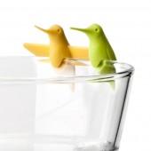 Identificadores Pájaro para Vasos y Copas