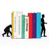 "Sujetalibros ""Evolution Bookends"""