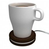 "Galleta Calentador de Tazas por USB ""Hot Cookie"""