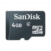 SanDisk 4GB MicroSDHC Memory Card