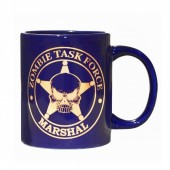 """Zombie Task Force"" Marshal Mug"