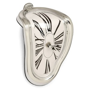 Melting time Clock in Dali style