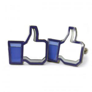 """Gemelos para Camisa """"Me Gusta"""" de Facebook"""