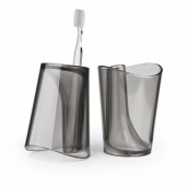 "Vaso para enjuague bucal y porta cepillo dental ""Flip Cup"""