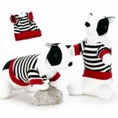 Camiseta Polo a rayas Perro