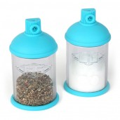 Spray Paint Salt & Pepper Shakers