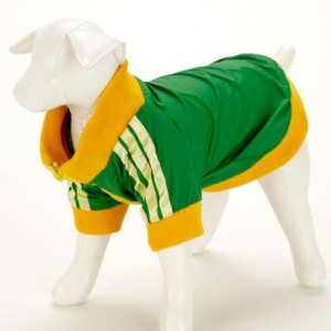 Dog Tracksuit Green