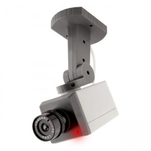 Fake Motorised Security Camera with Led and Sensor