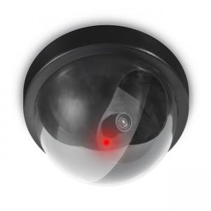Cámara falsa de vigilancia Domo con Led y Sensor