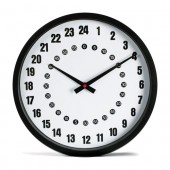 Wall Clock 24 hours