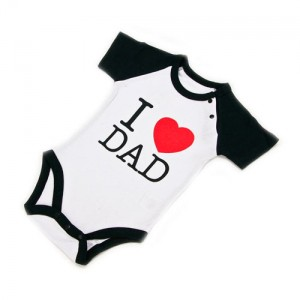 "Body Bebé ""I Love Dad"""