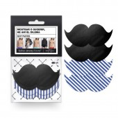 """Pasties Sexy """"Moustache"""""""