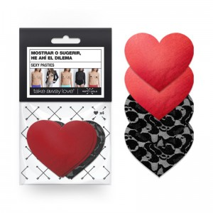 Sexy Pasties Heart