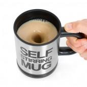 Self Stirring Mug Stainless Steel
