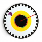 Reloj de pared Sprocket (diseño por Milton Glaser)