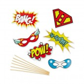 "Photocall Accessories ""Superhero"""