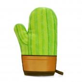 """Cool Cactus"" Glove Oven Mitt"