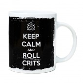 """Keep Calm and Roll Crits"" Mug"
