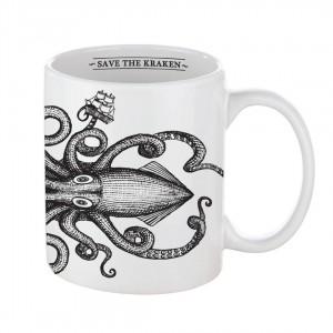 """""""Save the Kraken"""" Mug"""