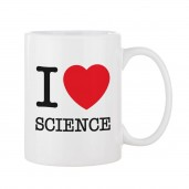 "Taza ""I Love Science"""