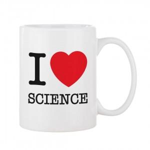 """I Love Science"" Mug"