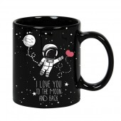 """I Love You to the Moon and Back"" Mug"