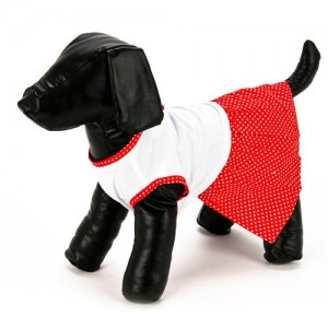 Red Dog Dress
