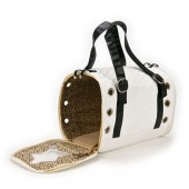 White Leather Bag pet