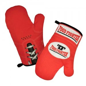 Food Fighter Oven Mitts Standard