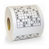 Rollo Papel WC Sudoku