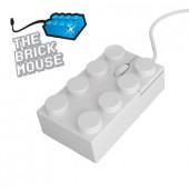 Ratón ladrillo Lego Blanco