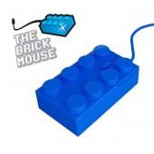 Ratón ladrillo Lego Azul