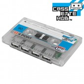 Cassette USB Hub Transparent
