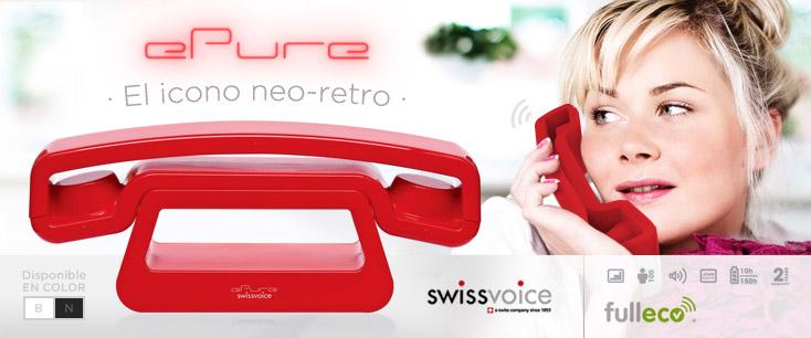 Teléfono de diseño ePure